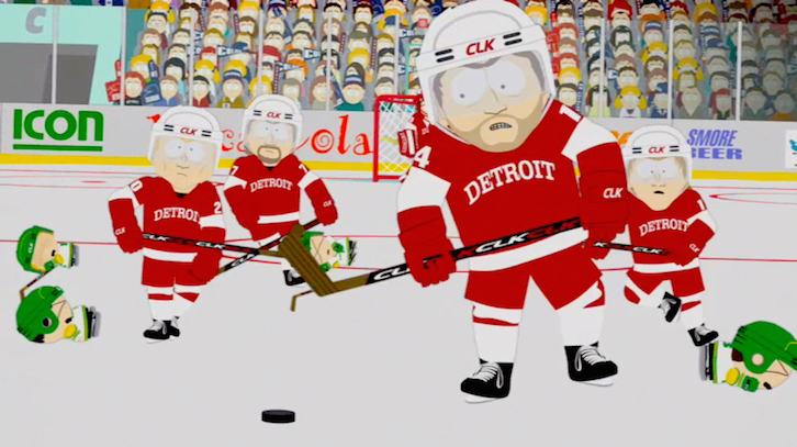 16 detroit red wings  - sports figures parodied on south park