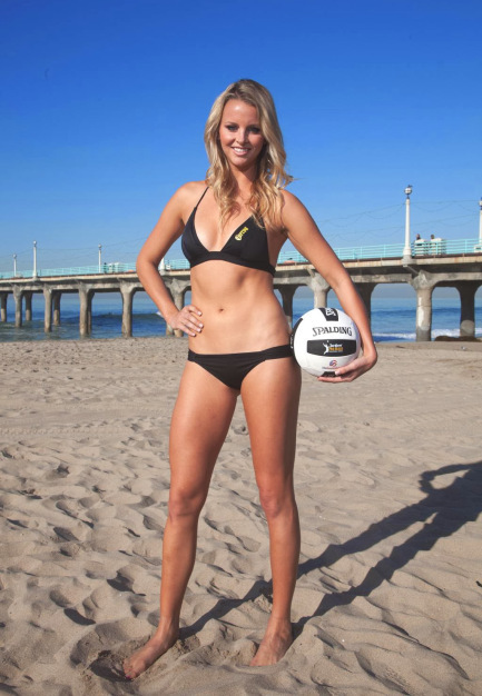 18 jess gysin (jimmy clausen bears) - hottest nfl wags 2014