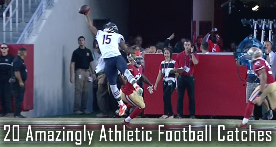 20 most athletic catches