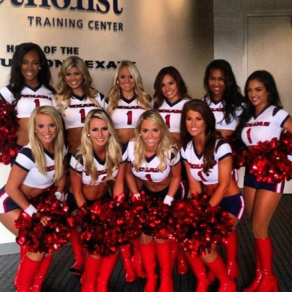 20477 houston texans cheerleaders instagram (most popular nfl cheerleading squads on instagram)