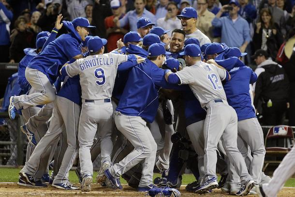 3 2014 kansas city royals - since the royals last made the playoffs