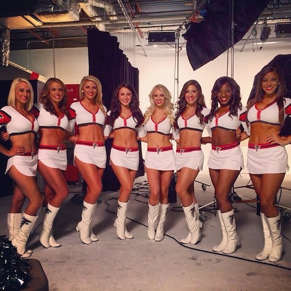 3684 atlanta falcons cheerleaders instagram (most popular nfl cheerleading squads on instagram)