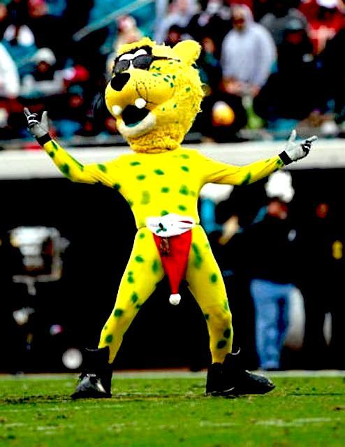 5 Jaxson de Ville Jacksonville Jaguars Mascot - creepy NFL mascots