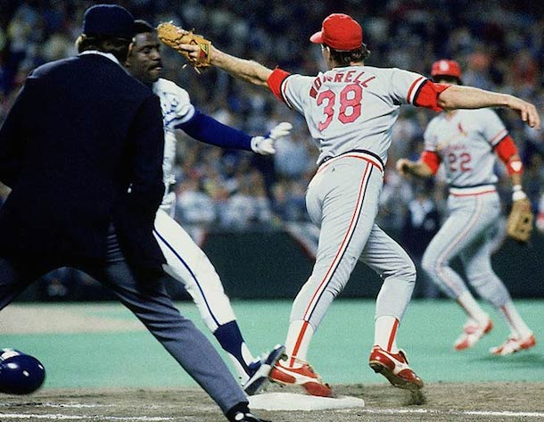 5 denkinger 1985 world series cardinals royals - since the royals last made the playoffs