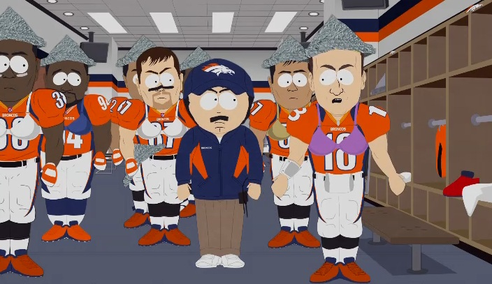 7 peyton manning eric decker and the broncos sarcastaball  - sports figures parodied on south park