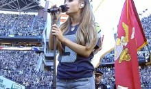 Ariana Grande Starts NFL Season With National Anthem Performance (Video)