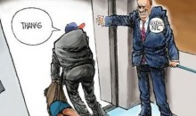 Arizona Republic Editorial Cartoon Shows Roger Goodell Holding Elevator for Ray Rice (Pic)