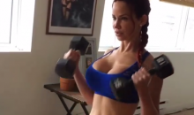 Bianca Beauchamp Gives Us Another Sexy, Low-Impact Workout (Video)