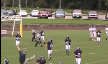 Chest Bump With Player Sends High School Coach Reeling (Video)