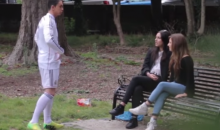 Cristiano Ronaldo Impostor Gets Girls Just by Wearing the Uniform (Video)