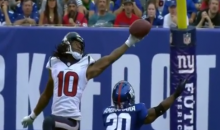DeAndre Hopkins Catch Against the Giants Is Borderline Superhuman (Video)