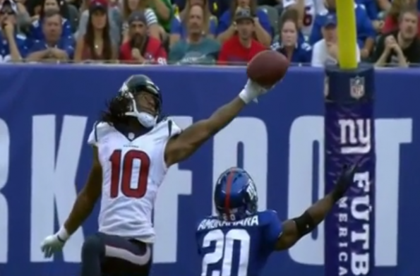 DeAndre Hopkins catch