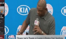 Clippers Coach Doc Rivers Makes Fun of Steve Ballmer's Apple Product Ban (Video)
