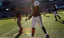 "Geno Smith Gives Angry Fan a ""F*** You"" While Walking Off Field (Video)"