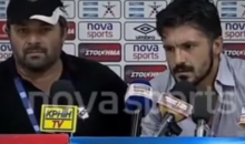 Greek Soccer Coach Gennaro Gattuso Offers Up Truly Entertaining Press Conference Rant (Video)