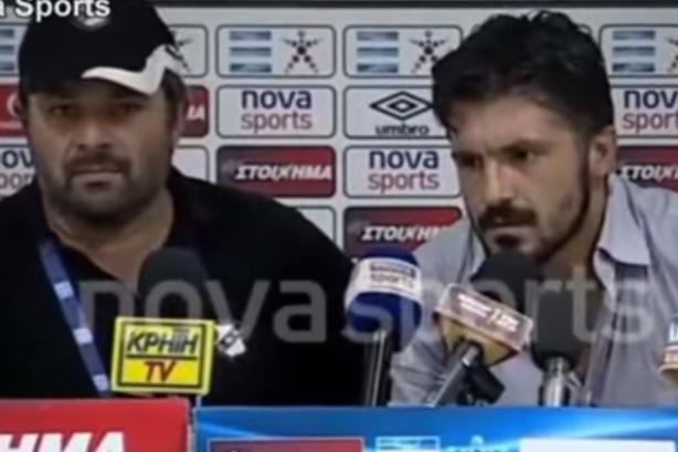 Greek soccer coach