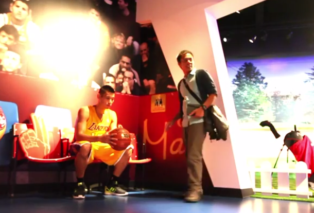 He Does It Again The Jeremy Lin Wax Statue Prank FTW