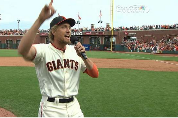 Hunter Pence Speech Will Inspire You Enough to Make You a Giants Fan