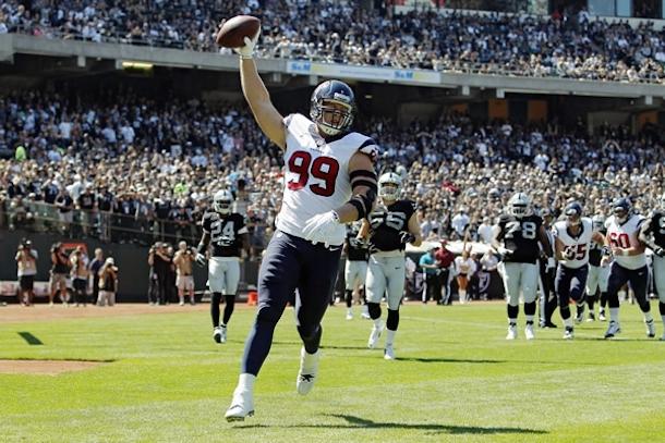 J.J. Watt touchdown