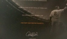 Derek Jeter Farewell Letter to Fans Is the Most Jeter Thing Ever (Pic)