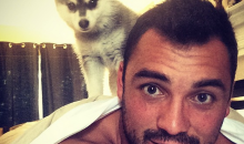 Lions TE Joseph Fauria Injured Himself Potty Training the Cutest Puppy Ever (Pics)