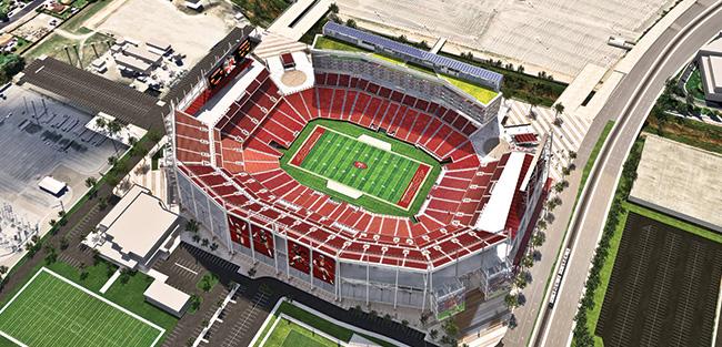 Levi's Stadium Top View