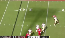 NC State QB Jacoby Brissett Plays Game of His Life in FSU Loss (Video and GIF)