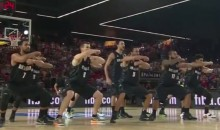 New Zealand Basketball Team Performs Haka Prior to FIBA World Cup Match vs. USA (Video)