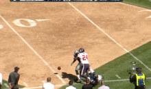 James Jones Fumbles Twice in One Play, Because He's a Raider (Tweet and GIF)