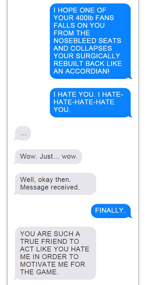 Romo Brees Text Convo - 11