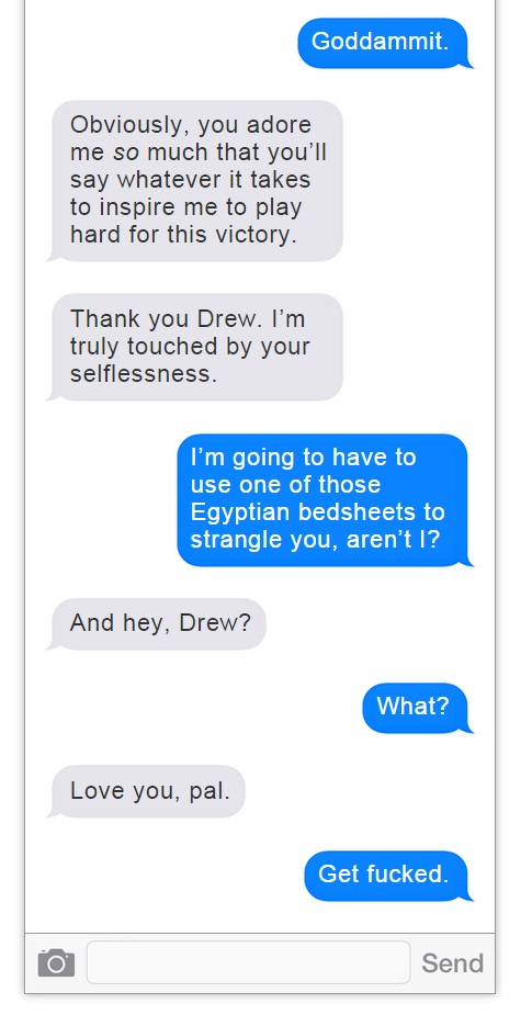 Romo Brees Text Convo - 12
