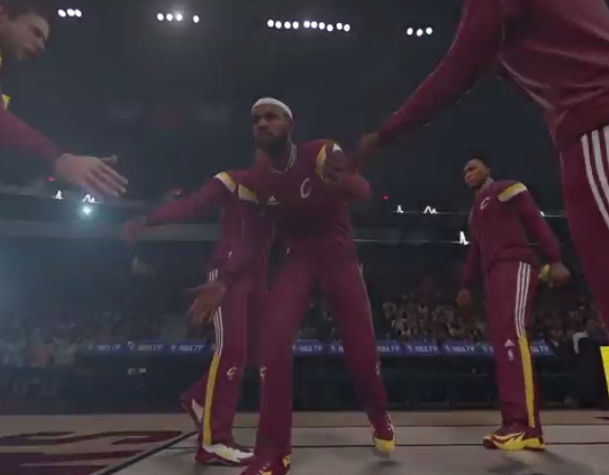 NBA 2k introductions