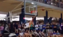 This Dunk Fail Adds Credence To 'White Men Can't Jump' (Video)