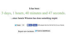 Useful Website Tracks Last Time Jameis Winston Did Something Stupid