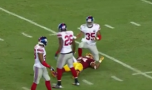 Washington Linebacker Niles Paul Knocked Unconscious by Terrifying Helmet-on-Helmet Hit (Video)