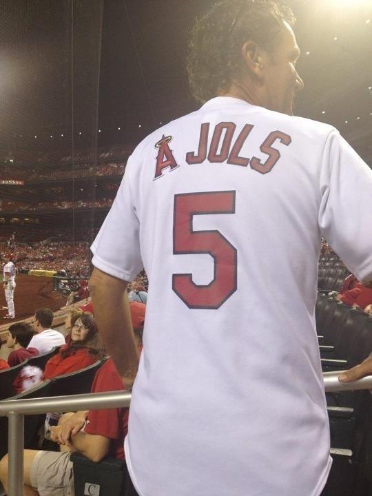 ajols pujols jersey - best customized fan jerseys
