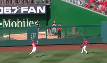 Amazing Steven Souza Catch on Final Out Saves No-Hitter for Jordan Zimmermann (Videos)