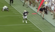 Move Over Red Lightning: Auburn Ball Boy Jake Longenecker Nearly Outruns Auburn Wide Receiver on Touchdown Run (Video)