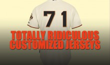 71 Totally Ridiculous Customized Sports Jerseys