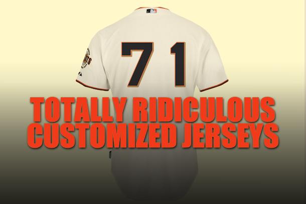 best customized jerseys