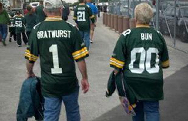 bratwurst and bun his hers packers jerseys - best customized fan jerseys