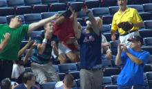 Braves Fan Takes Foul Ball to the Face, Is Laughed at by Internet (Video)