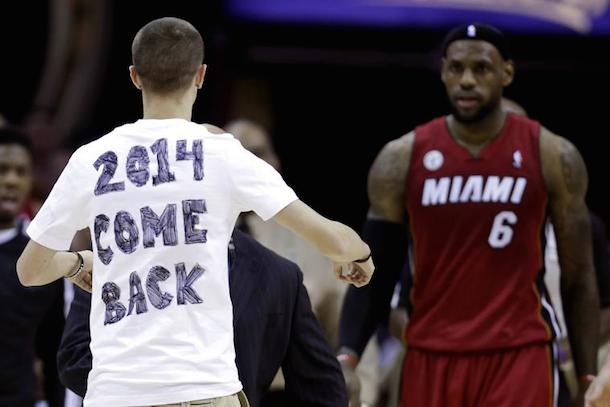 cleveland cavaliers lift ban on 2014 come back kid