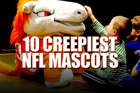 creepy and weird nfl mascots