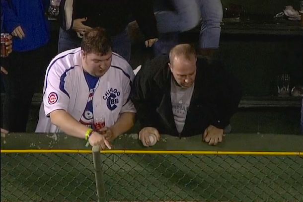 cubs fan loses wedding ring in the outfield