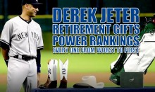 Derek Jeter Retirement Gifts Power Rankings: Every One from Worst to First