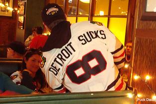 detroit sucks 8 blackhawks jersey - best customized fan jerseys