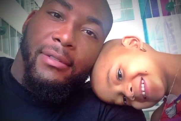 devon still and daughter leah battling cancer