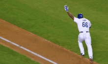 Dodgers Clinch NL West Crown, and by Dodgers I Mean Puig and Kershaw (GIFs)