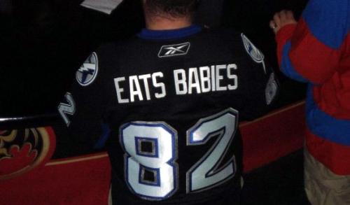 eats babies 82 - best customized fan jerseys